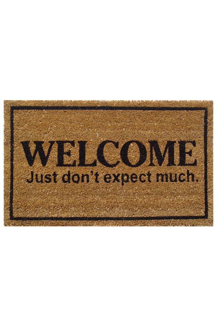 Awesome Welcome Mats The Image Kid Has It