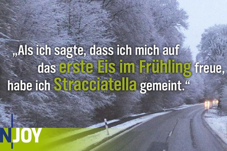 ...das erste Eis im Frühling...