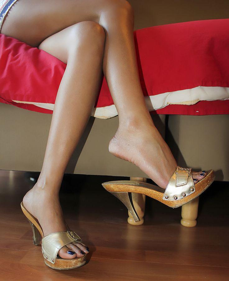Wooden Heeled Shoe