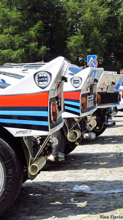 Lancia - as if one of these beasts wasn't eye watering enough...