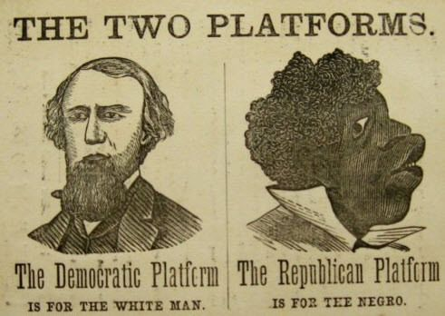 For those who think the Republican party was/is the racist one, learn a little truth.