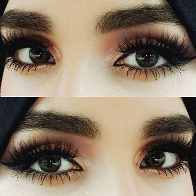 Gorgeous ❤️❤️❤️ @makeupbyelnazi @shophudabeauty lashes in Samantha & Farah