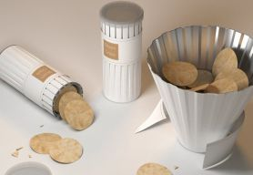 Ce packaging est brillant la bonne idée pour un apero ou un pic nic réussi