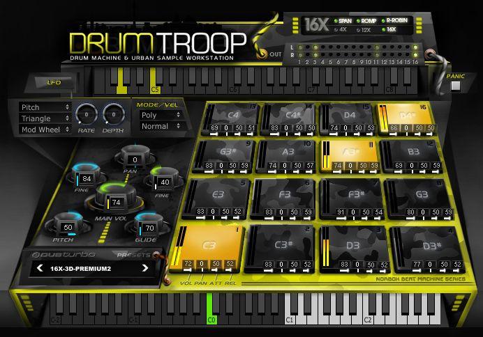 Dub Turbo DrumTroop Free VST Drum machine Plugin | Best Free VST