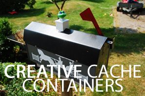 A slide show of creative #geocache containers.