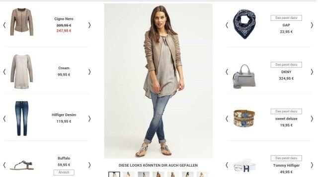 Tunika, Lederjacke, helle Jeans