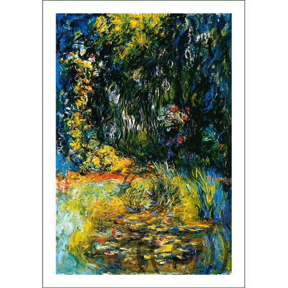 fabric panel - painting by Claude Monet (8)