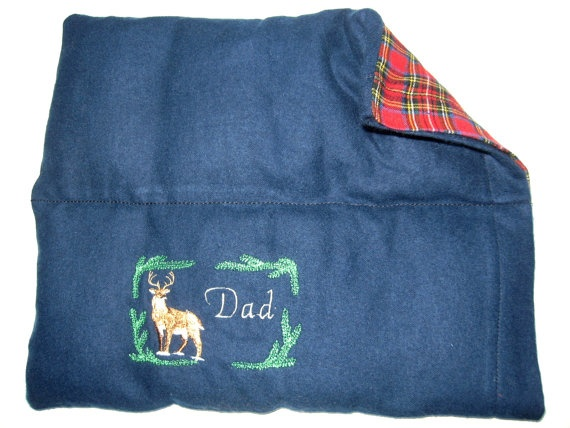 microwave heating pad cold pack custom embroidered for dad all natural eco friendly