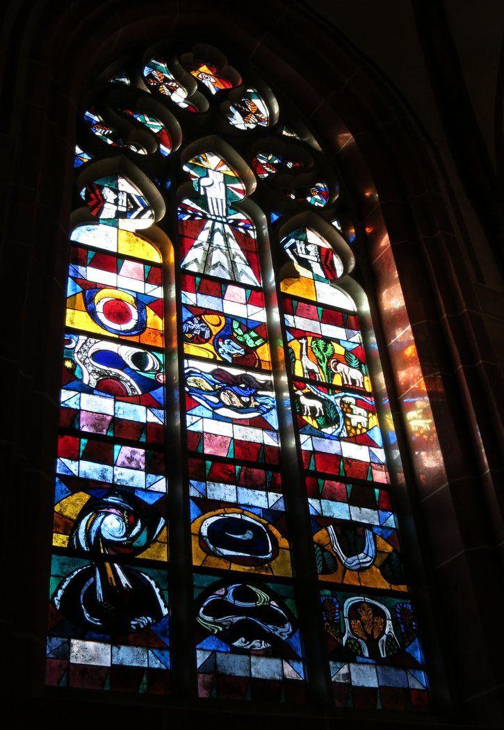 Bremen, Dom, wunderschönes Fenster in südlichem Seitenschiff #bremen