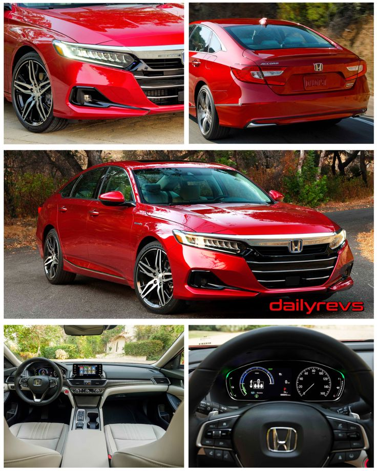 2021 Honda Accord Hybrid Dailyrevs Honda accord, Honda