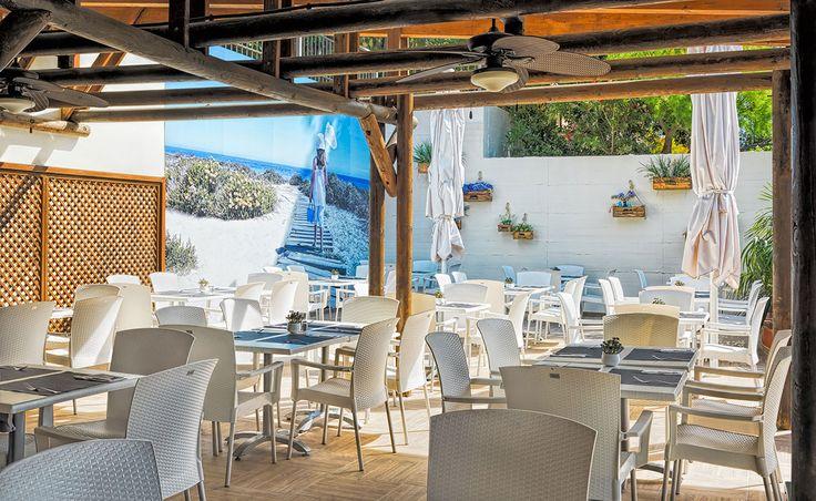 Terraza La Masia / La Masia Terrace #h10 #h10hotels #salou #h10mediterraneanvillage