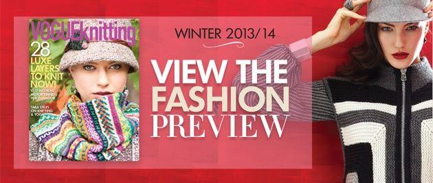 Vogue Knitting website