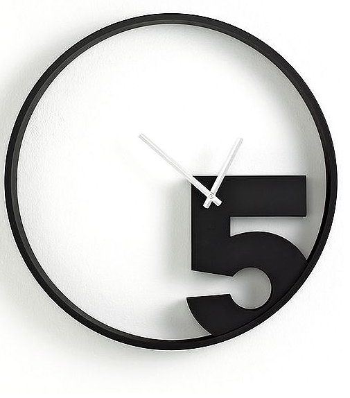 We appreciate that the Take 5 Wall Clock ($60, originally $85) reminds us that there is always time for a break.