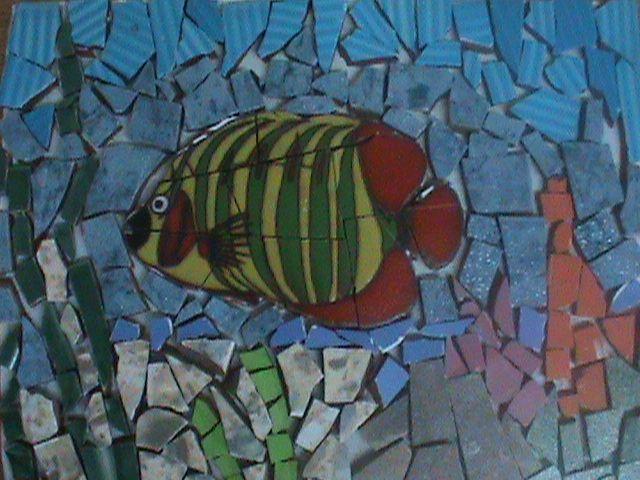 mi primer mosaico...