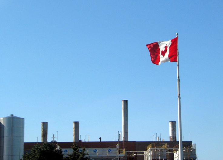 Canadian Industry: flying a flag