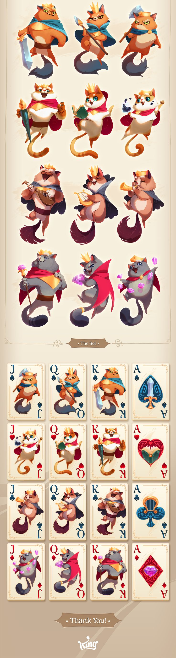 Card art work process -  this went through a long iteration haha, this was one of the original ideas that stayed till the end.