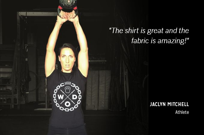Not just the best technical shirt a functional athlete could buy.  It has a statement!