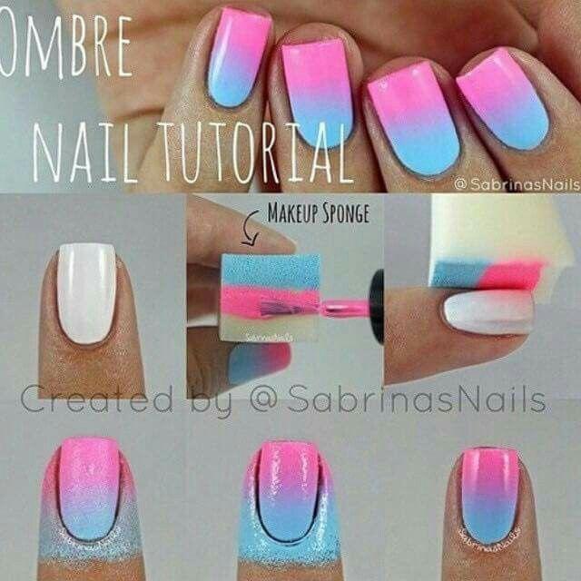 Really nice all u need is nail polish tape a make up sponge and a  creative mind