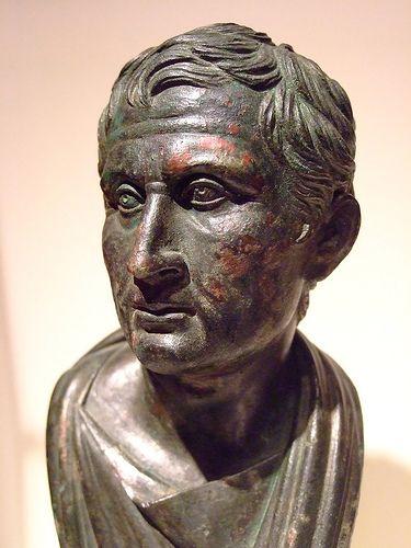 Bust of Menander Roman Bronze 1-25 CE | Flickr - Photo Sharing!