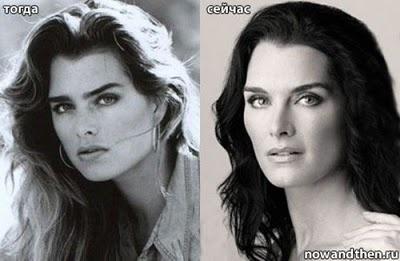 Brooke Shields aging gracefully.