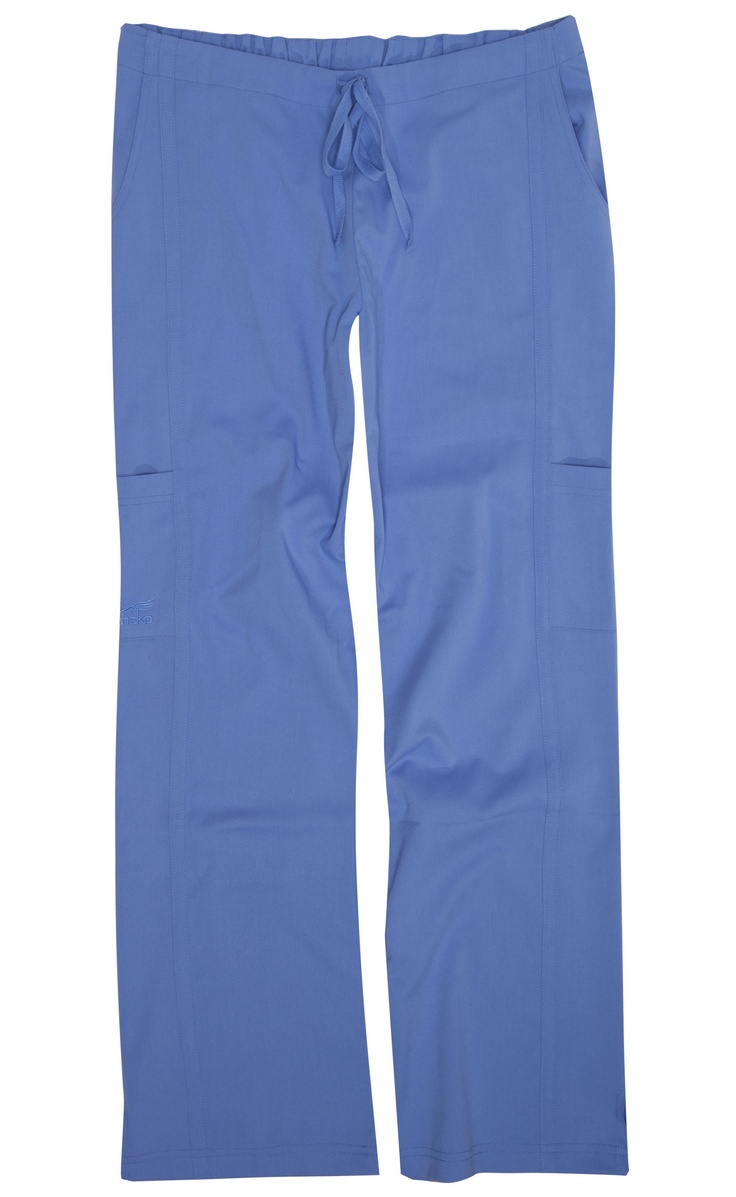 Gina Ceil Stretch Woven Dansko Scrubs- the absolute best scrub pants ever. And they come in petites so no need to hem!! plus the pockets are great and the waistband is flattering. Highly recommend!!