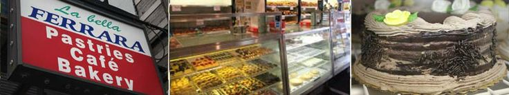 La bella Ferrara - Pastries Cafe Bakery in Little Italy NYC