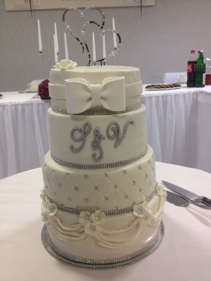 Hochzeitstorte 4-stöckig