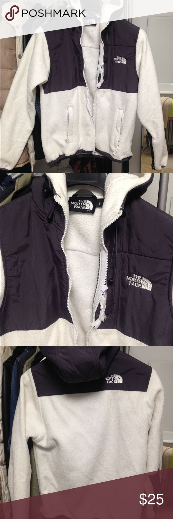 White North Face Jacket This has been sitting around in my storage for so long and I've never worn it. Somebody take it! It's very warm I promise! No stains that I can see and its in nice shape. Jackets & Coats