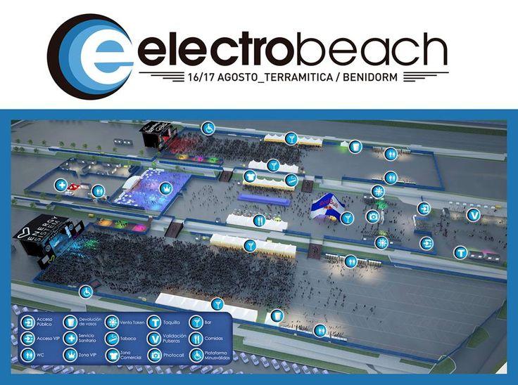 Plano oficial Electrobeach 2013