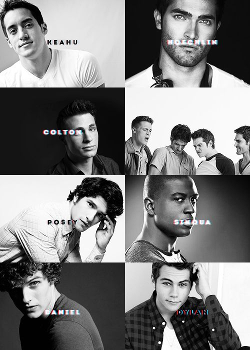 At first I was wondering why Tyler Posey's last name was showing, then I saw…