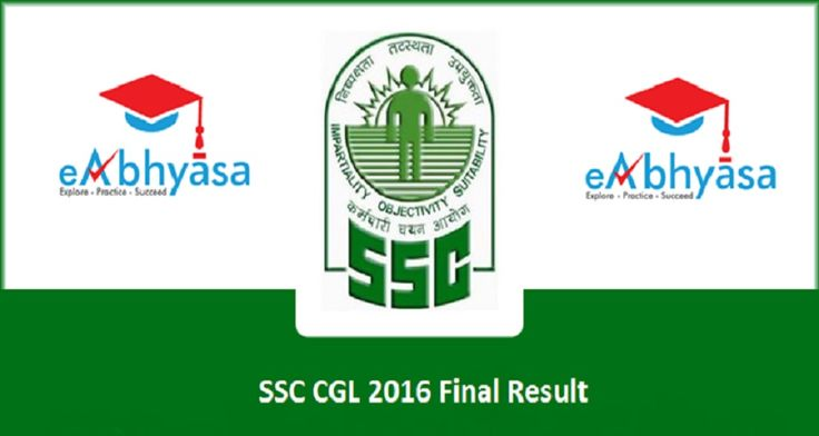 SSC CGL 2016 Final Result Declared - Know How To Check Online  https://www.eabhyasa.com/notification/ssc-cgl-2016-final-result-declared-know-how-to-check-online  Get Best Online Test Series for #SSC #CGL. Free Practice Tests and Mock Tests with eAbhyasa. Our #test series is sure shot way to succeed in SSC CGL 2017 #exam.Highly analyzed sets of questions selected by experts!
