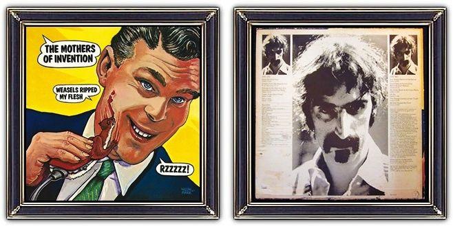 ♫ Frank Zappa - Weasels Ripped My Flesh (1970) -  Album Art/Design: Neon Park - https://www.selected4u.net/caa/frankzappa/weaselsrippedmyflesh/play.html