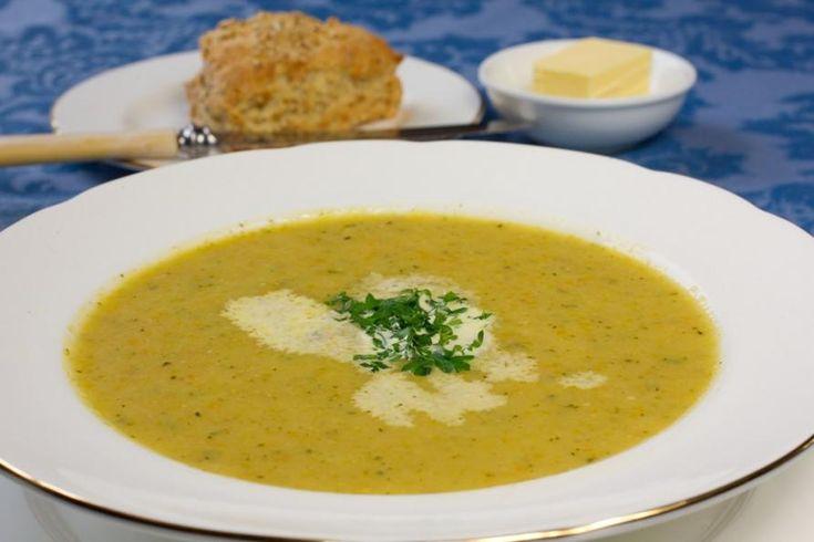Irish Oatmeal Vegetable Soup