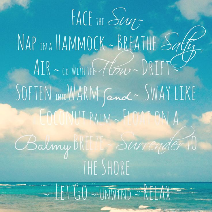 Beach Quote Print - Ocean Photography and Inspirational Quote about Beach Life - Beach Quote Art. $35.00, via Etsy.