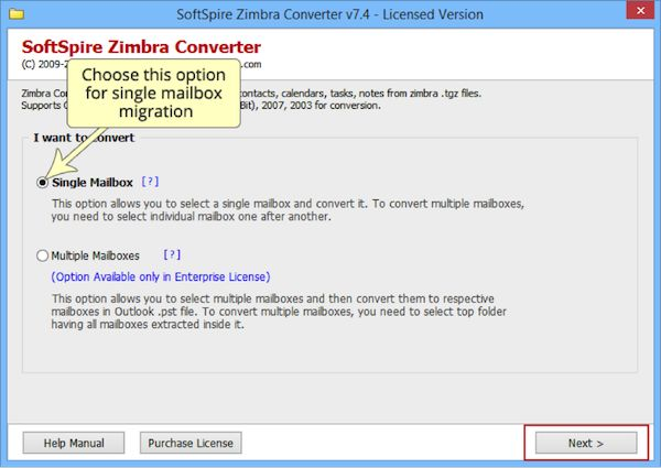 SoftSpire Zimbra Converter – Product Review