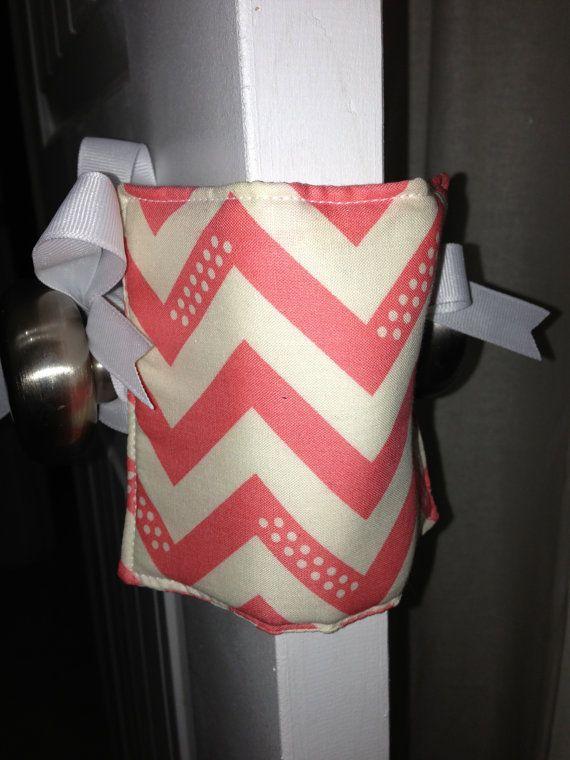 Baby Door Jammer / Door Muff / Door Silencer by SisterlySeams, $6.50