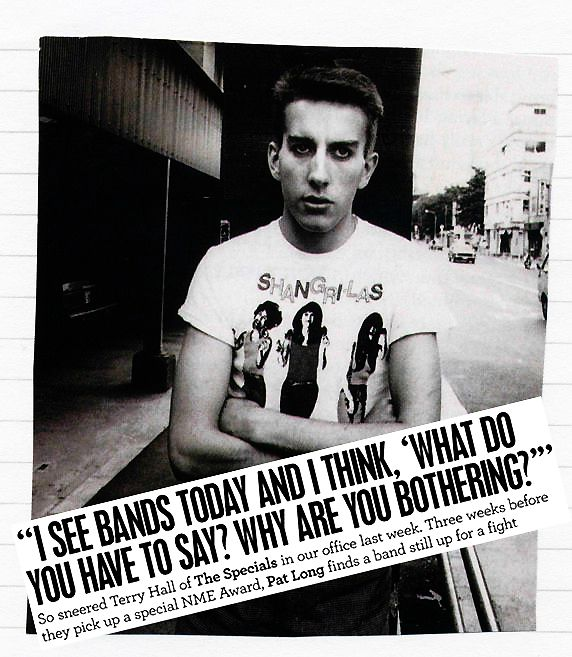 So sneered Terry Hall of The Specials