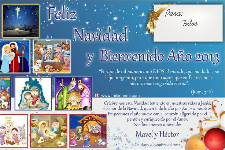 Feliz Navidad 2012 - Moñitos Diseño: Héctor y Mavel
