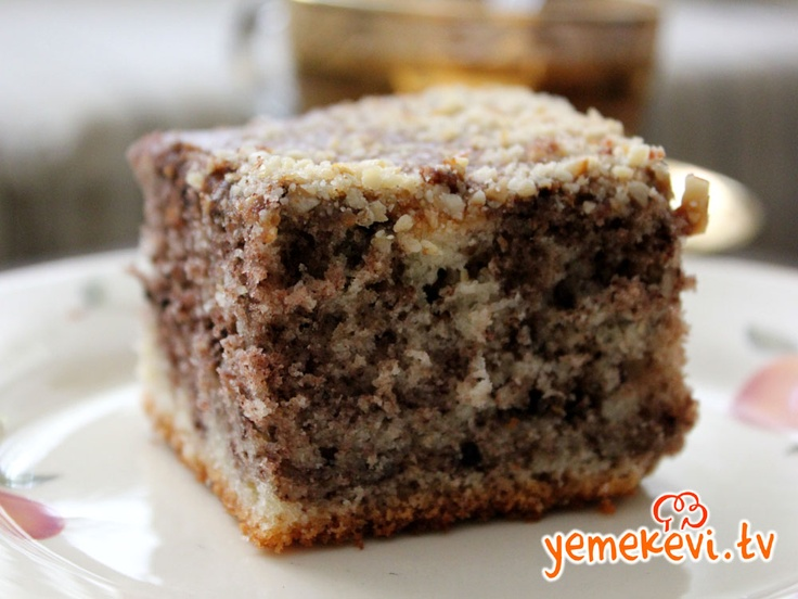 Alacalı Kek, Cake Recipes, Kekler, Kek Tarifleri,   www.yemekevi.tv, www.facebook.com/YemekeviTV, www.twitter.com/yemekevitv, www.youtube.com/user/fvayni