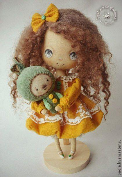 Коллекционные куклы ручной работы. Ярмарка Мастеров - ручная работа Подарок Маленькому Ангелу. Handmade.