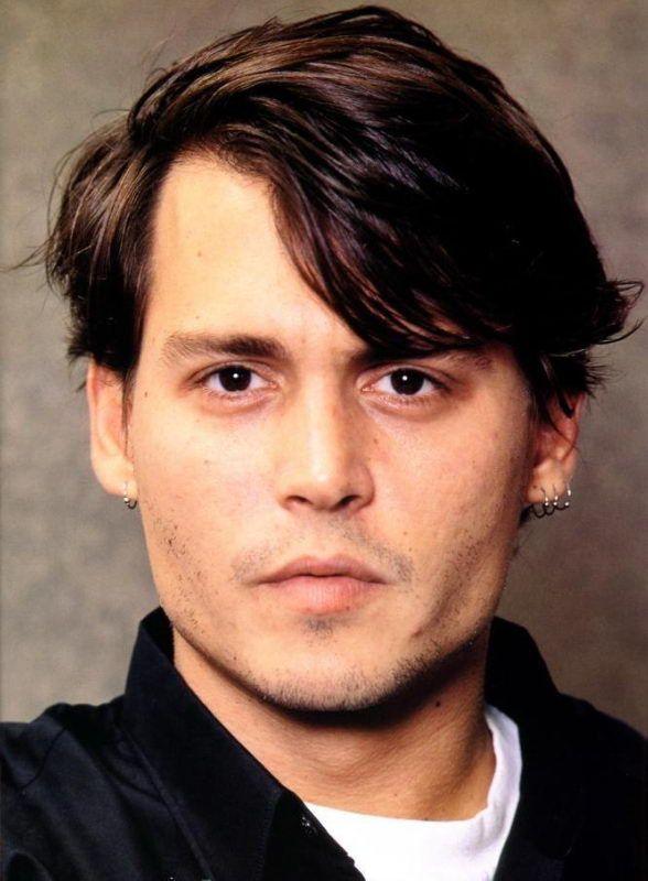 Johnny Depp, photographed by Tomoo Nonomura, 1995