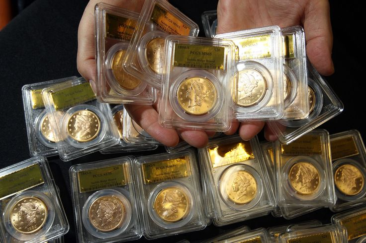 Buried gold coins found by California couple on display before sale  The largest cache of gold treasure thought to ever be unearthed in North America is on display this weekend at a Nevada antique show, providing the public with a rare opportunity to see the nearly perfectly preserved coins in person before they are sold later this month. Called the Saddle...  http://www.latimes.com/local/lanow/la-me-ln-california-buried-gold-coins-display-20140509-story.html