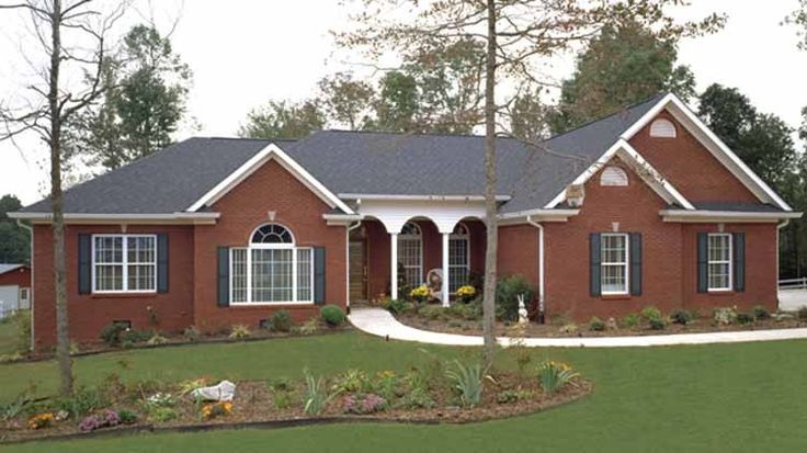 Eplans Ranch House Plan Midsize Ranch With Plentiful