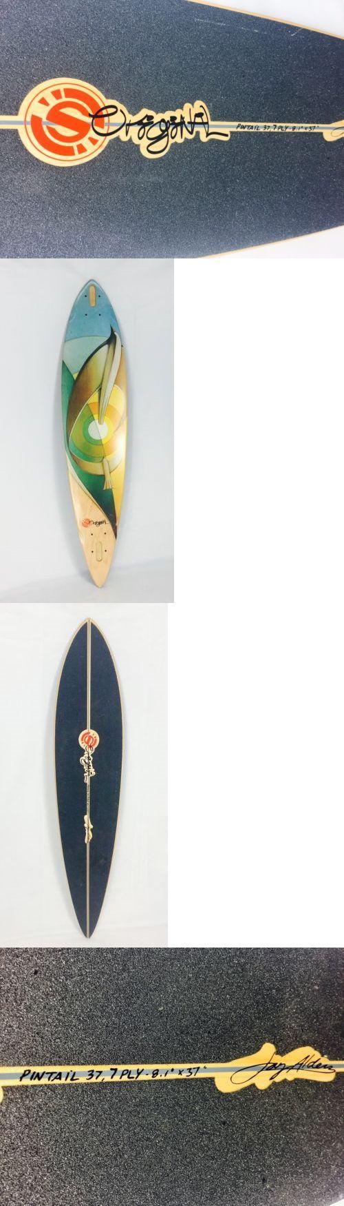 Longboards-Complete 165942: Jay Alders Original Longboard Pintail 37 Deck Board Skateboard -> BUY IT NOW ONLY: $78.99 on eBay!