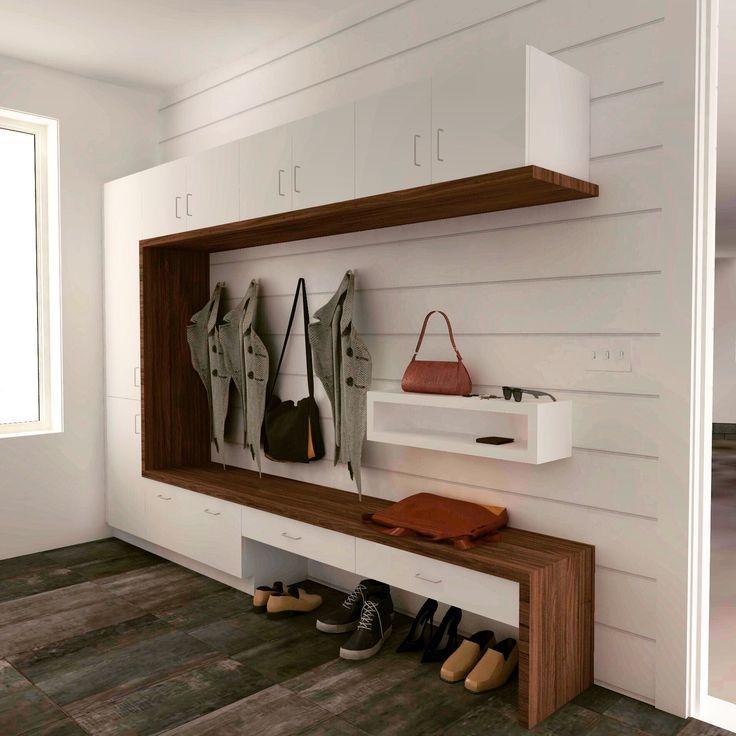 Modern Mudroom Lockers Design – #Design #Lockers #…