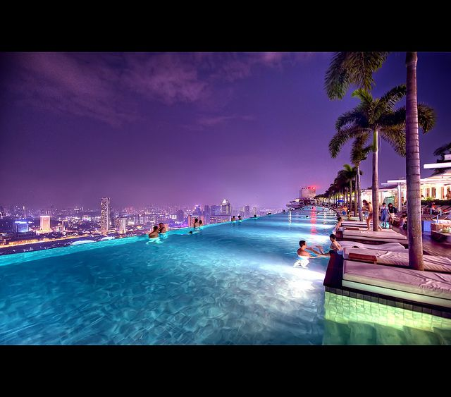 Rolling In The Deep - Explored by Nuno Miguel Duarte, via FlickrSwimming Pools, Dreams Places, Buckets Lists, Dreams Vacations, Marina Bays Sands, Singapore, Infinity Pools, Hotels, Purple Sky