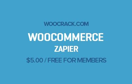 WooCommerce Zapier 1.6.1, Woocrack.com – WooCommerce Zapier is a WooCommerce Extensionsdeveloped by Woothemes. WooCommerce Zapier allows you to integrate your store with 500++ web