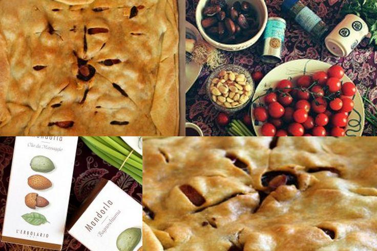 Secondo Piatto - Baklava con pomodori, tofu, mandorle e datteri. Ecco la ricetta: http://www.erbolario.com/ricettevegane/ricette/1-Baklava_con_pomodori_tofu_mandorle_e_datteri Ispirata da L'Erbolario Olio da massaggio Mandorla.