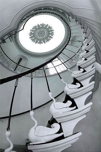 Swan stairs - Stairs - wow