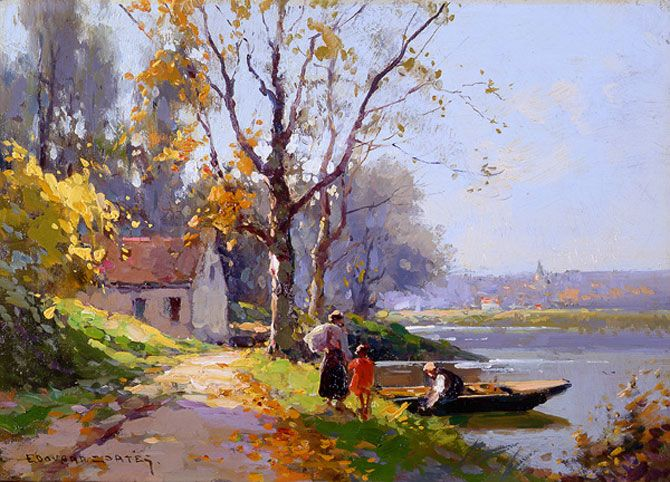 Eduard Leon Cortes Beautiful painting